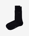 Tommy Hilfiger Small Stripe Sock Set de 2 perechi de șosete