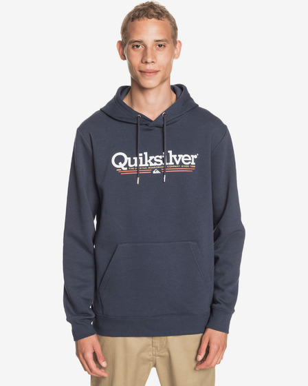 Quiksilver Tropical Lines Screen Fleece Hanorac