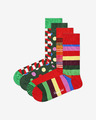 Happy Socks Classic Holiday 4 perechi de șosete